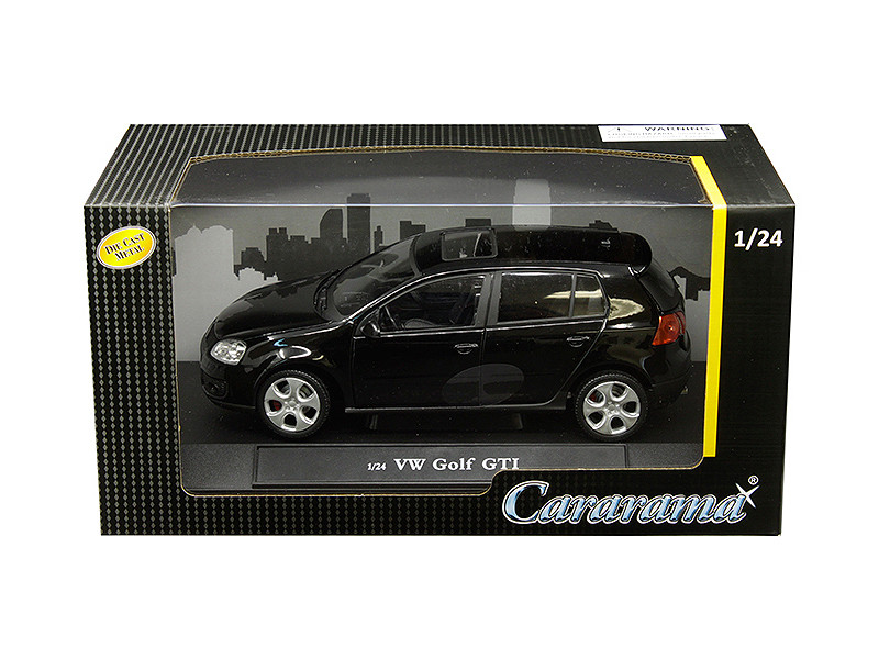 Volkswagen Golf GTI Sunroof Black 1/24 Diecast Model Car Cararama 12577