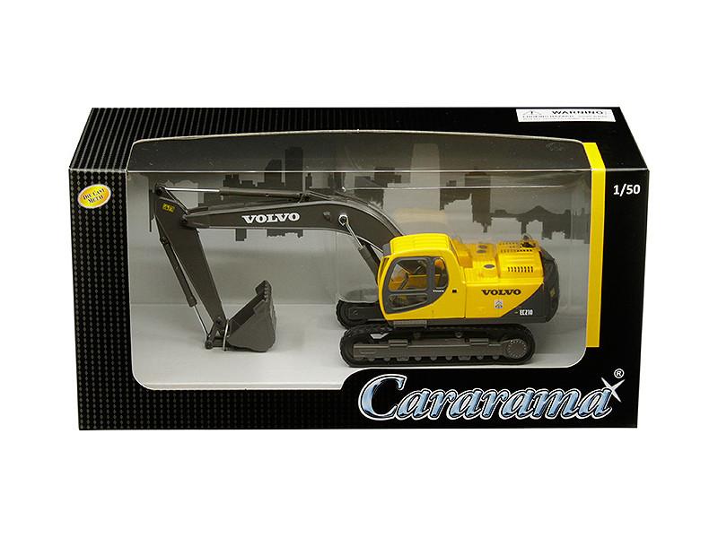 Volvo EC210 Excavator 1/50 Diecast Model Cararama 56003