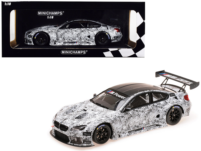 BMW M6 GT3 Presentation SPA 2015 Limited Edition 504 pieces Worldwide 1/18 Diecast Model Car Minichamps 155152699