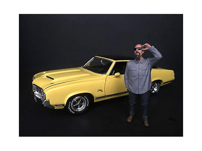 Hanging Out II Frank Figurine 1/24 Scale Models American Diorama 38281