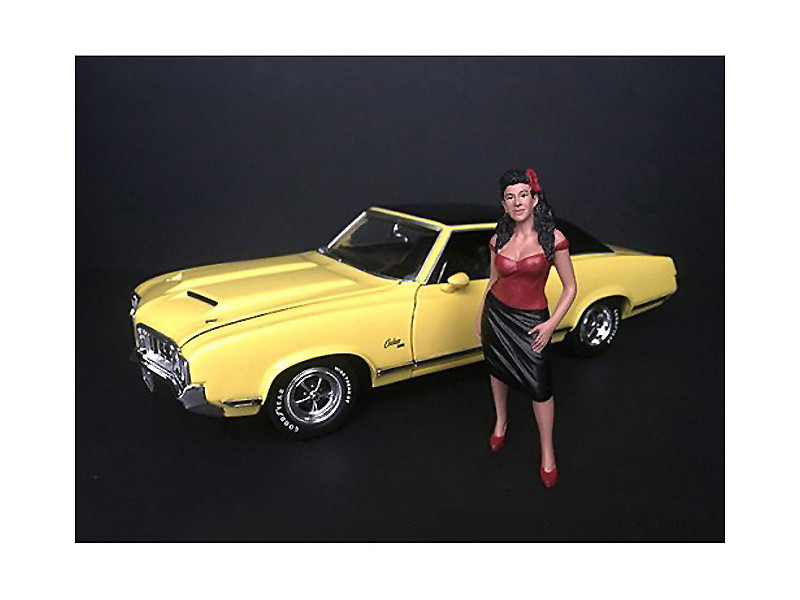 Hanging Out II Rosa Figurine 1/24 Scale Models American Diorama 38284