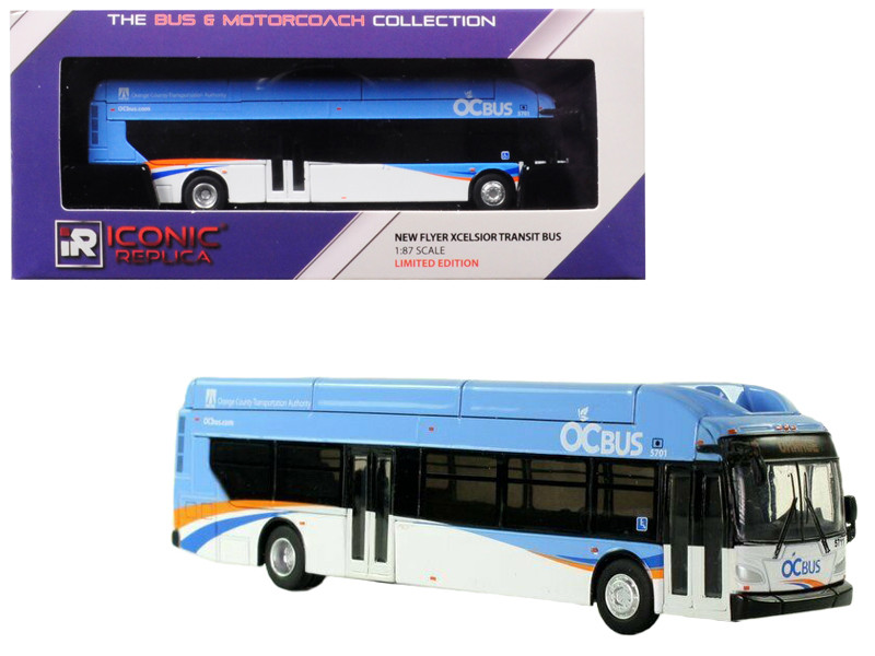 New Flyer Xcelsior CNG OCTA Transit Bus \Orange County Transportation Authority\