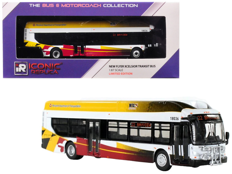 New Flyer Xcelsior Transit Bus \22 Bayview\
