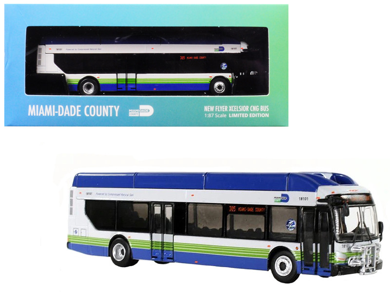 New Flyer Xcelsior CNG Transit Bus \305 Miami-Dade County\