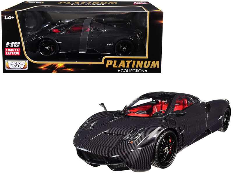 Pagani Huayra Carbon 1/18 Diecast Model Car Motormax 79996