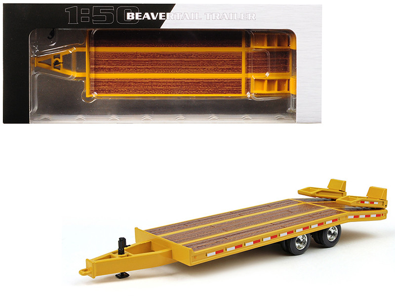Beavertail Trailer Yellow 1/50 Diecast Model by First Gear
