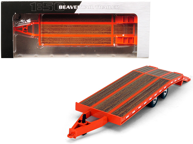 Beavertail Trailer Orange 1/50 Diecast Model First Gear 50-3377