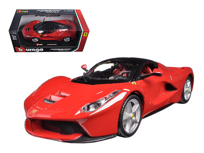 Ferrari Laferrari F70 Red 1/24 Diecast Model Car Bburago 26001