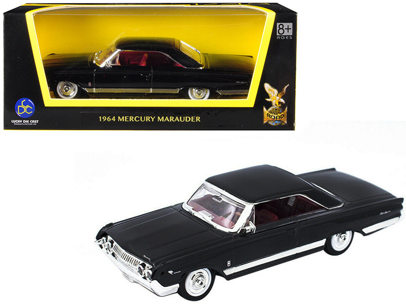 1964 Mercury Marauder Black 1/43 Diecast Model Car Road Signature 94250