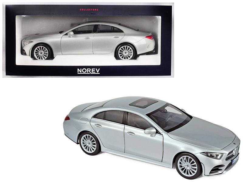 2018 Mercedes Benz CLS Class Silver 1/18 Diecast Model Car Norev 183489