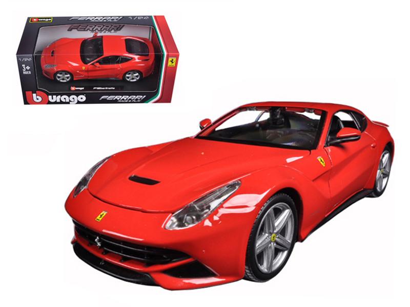 Ferrari F12 Berlinetta Red 1/24 Diecast Model Car Bburago 26007