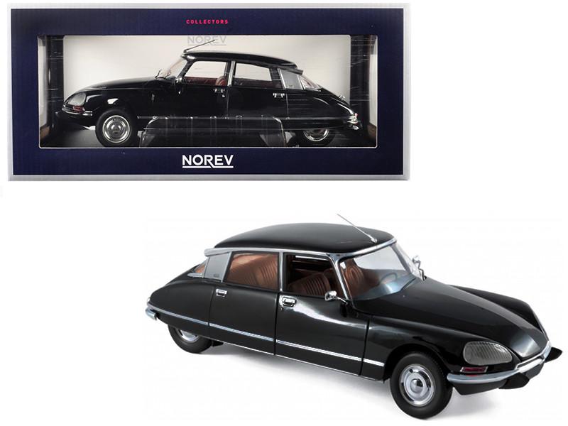 1974 Citroen DS 23 Pallas Black 1/18 Diecast Model Car Norev 181482