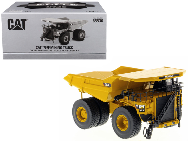 CAT Caterpillar 797F Mining Truck Elite Series 1/125 Diecast Model Diecast Masters 85536