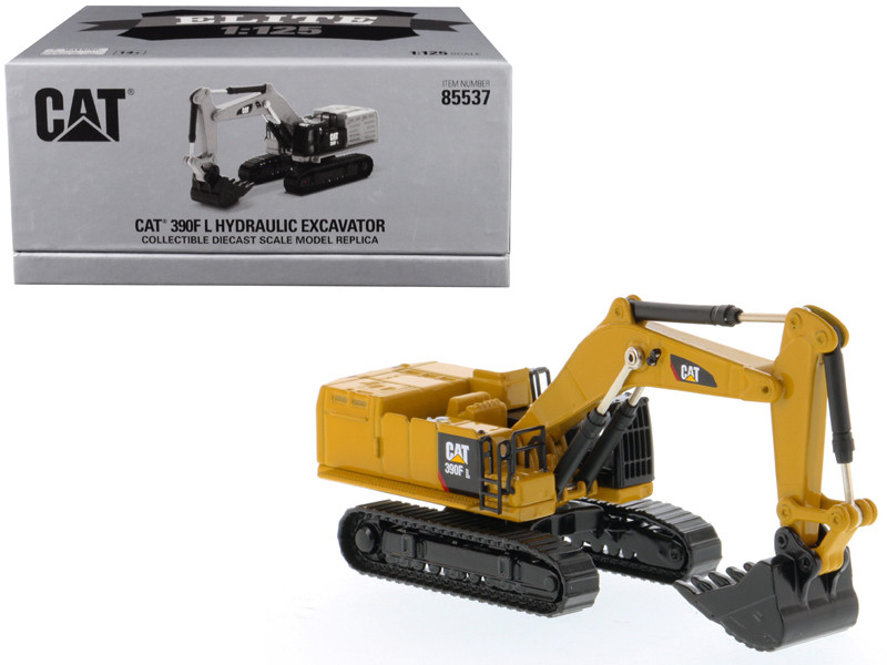 CAT Caterpillar 390F L Hydraulic Excavator Elite Series 1/125 Diecast Model Diecast Masters 85537
