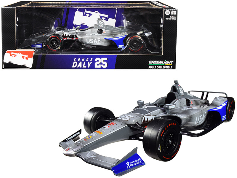 Honda Dallara Indy Car #25 Conor Daly US Air Force Andretti Autosport 1/18 Diecast Model Car Greenlight 11065