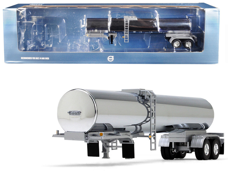 Tanker Trailer Chrome 1/50 Model First Gear 50-3368