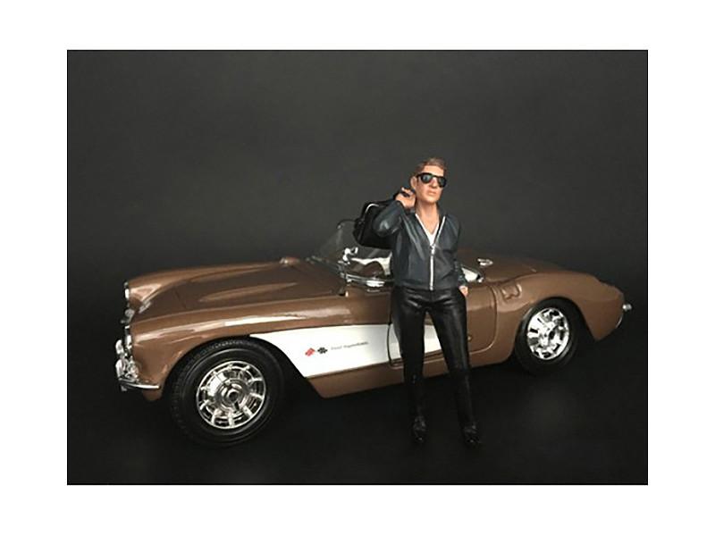 Ladies Night Tom Bartender Figurine for 1/24 Scale Models American Diorama 38291