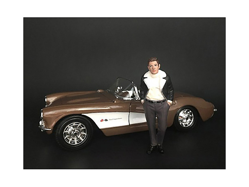 Ladies Night Marco The Owner Figurine for 1/24 Scale Models American Diorama 38294