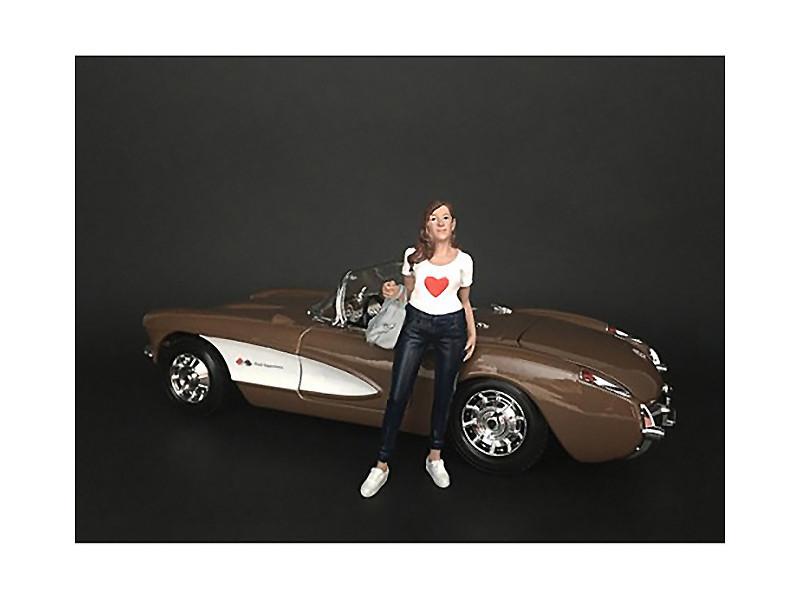 Ladies Night Elle Figurine for 1/18 Scale Models American Diorama 38193