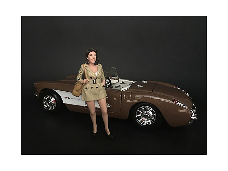 Ladies Night Betty Figurine for 1/18 Scale Models American Diorama 38195