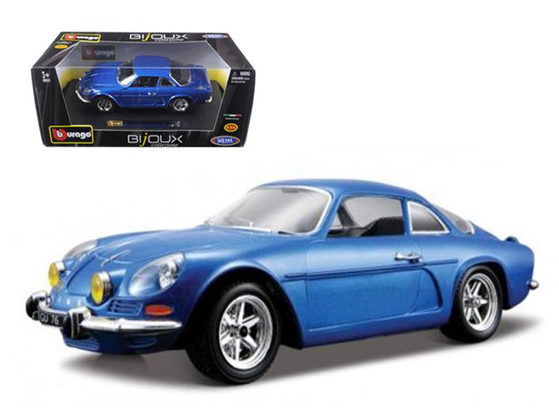 Renault Alpine A110 1600S Blue 1/24 Diecast Model Car Bburago 22093