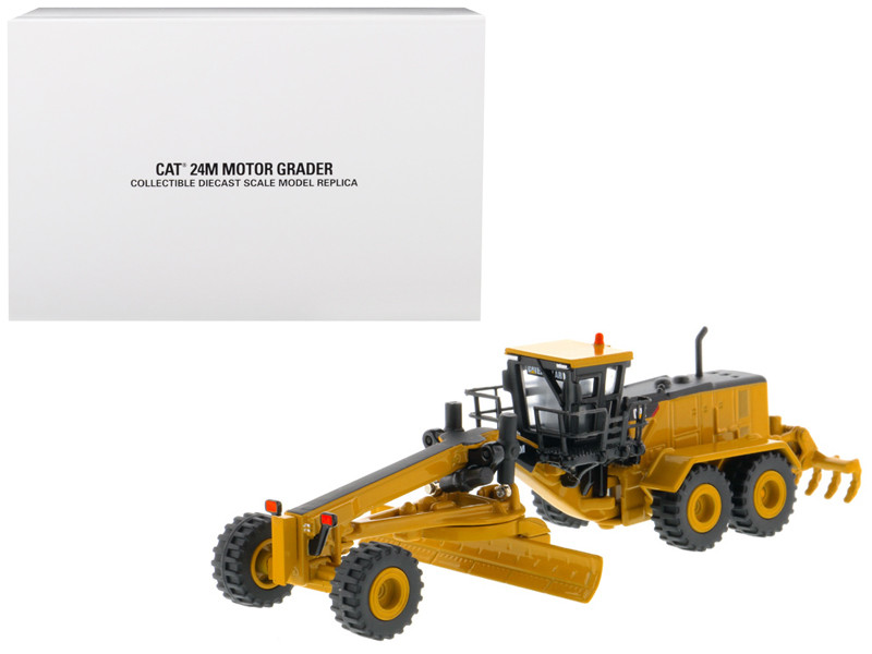 CAT Caterpillar 24M Motor Grader Elite Series 1/125 Diecast Model Diecast Masters 85539