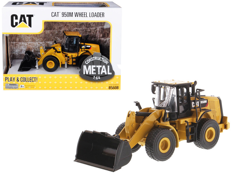 CAT Caterpillar 950M Wheel Loader 1/64 Diecast Model by Diecast Masters