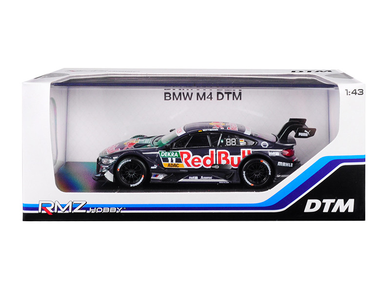 BMW M4 DTM #11 Red Bull 1/43 Diecast Model Car RMZ City 440998 B