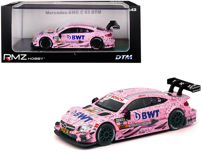 Mercedes AMG C 63 DTM #22 BWT 1/43 Diecast Model Car RMZ City 440999 G