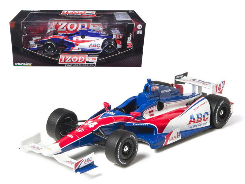 2012 Izod Indy 500 Mike Conway #14 ABC Supply Racing 1/18 Diecast Model Car Greenlight 10922