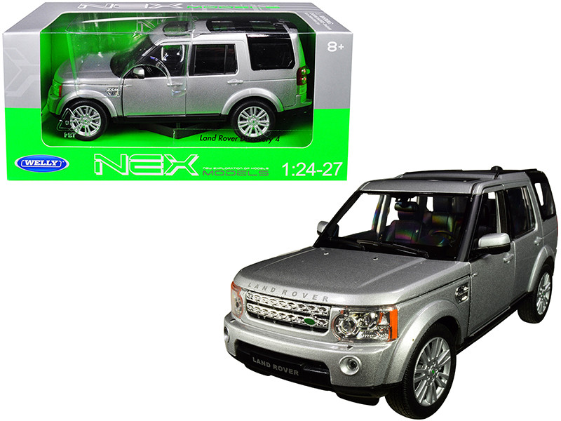 Land Rover Discovery 4 Silver 1/24 1/27 Diecast Model Car Welly 24008