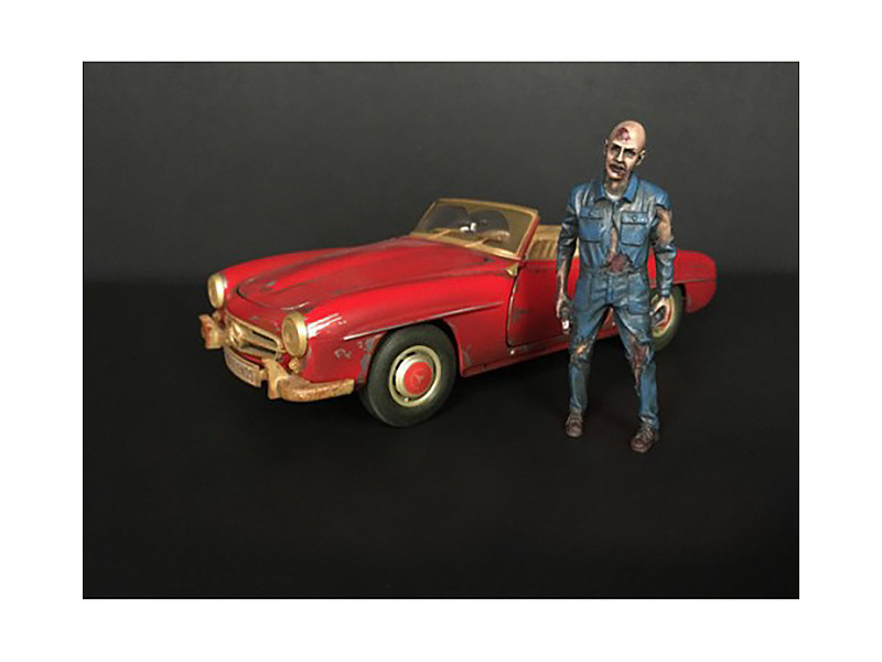 Zombie Mechanic Figurine I for 1/18 Scale Models American Diorama 38197