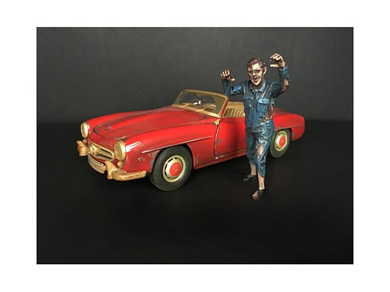 Zombie Mechanic Figurine II for 1/18 Scale Models American Diorama 38198