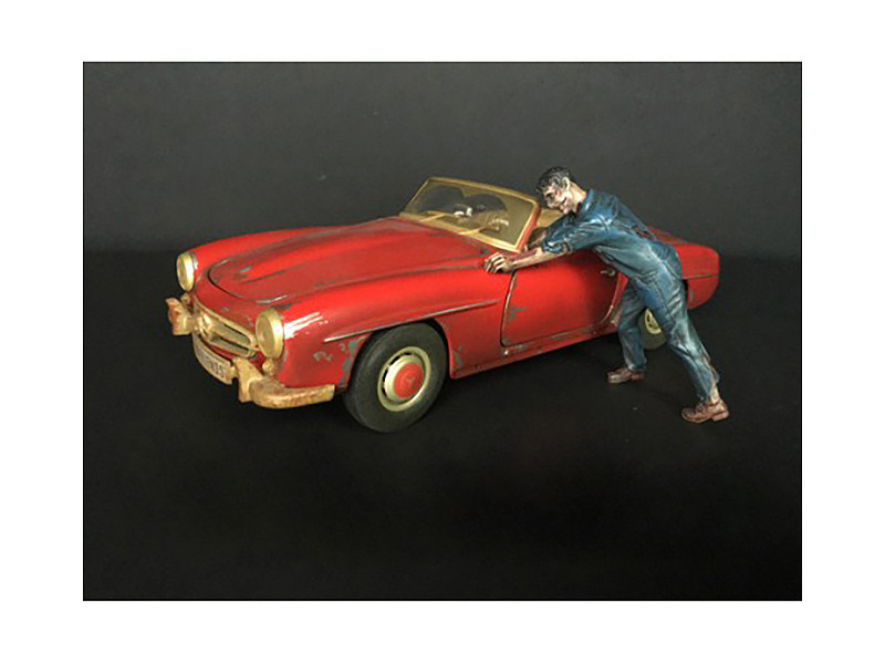 Zombie Mechanic Figurine IV for 1/18 Scale Models American Diorama 38200