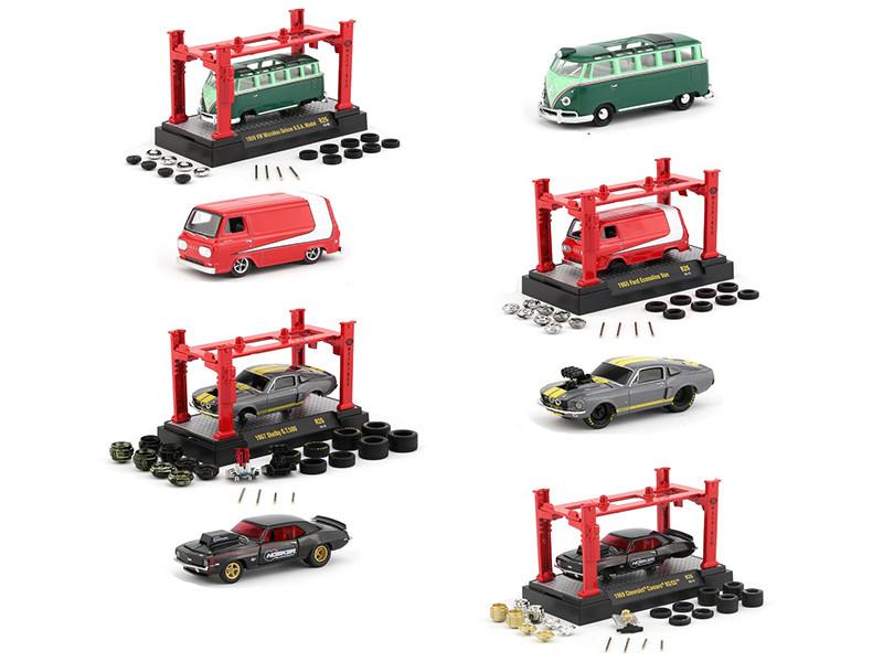 Model Kit 4 piece Car Set Release 26 1/64 Diecast Model Cars M2 Machines 37000-26