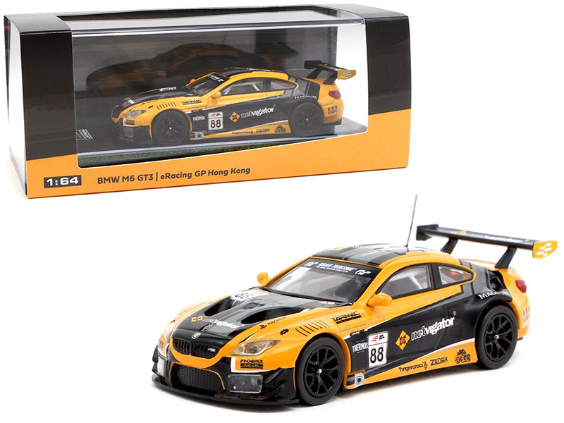 BMW M6 GT3 #88 eRacing Grand Prix Hong Kong Season 1 1/64 Diecast Model Car Tarmac Works T64-020-ERGP18NE