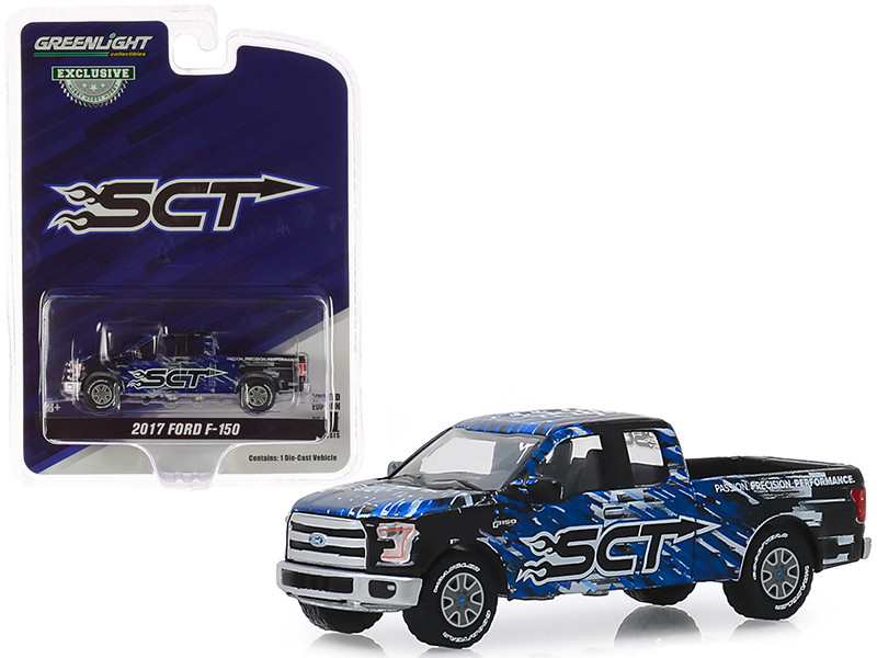 2017 Ford F-150 Pickup Truck SCT Performance LLC Hobby Exclusive 1/64 Diecast Model Car Greenlight 30091