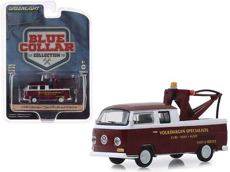 Greenlight 1972 VW T2 DoKa Crew Cab Park Ranger Norman Rockwell 1:64