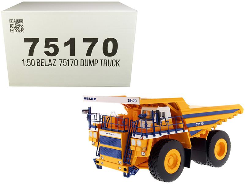 BelAZ 75170 Mining Dump Truck 1/50 Diecast Model Diecast Masters 75170