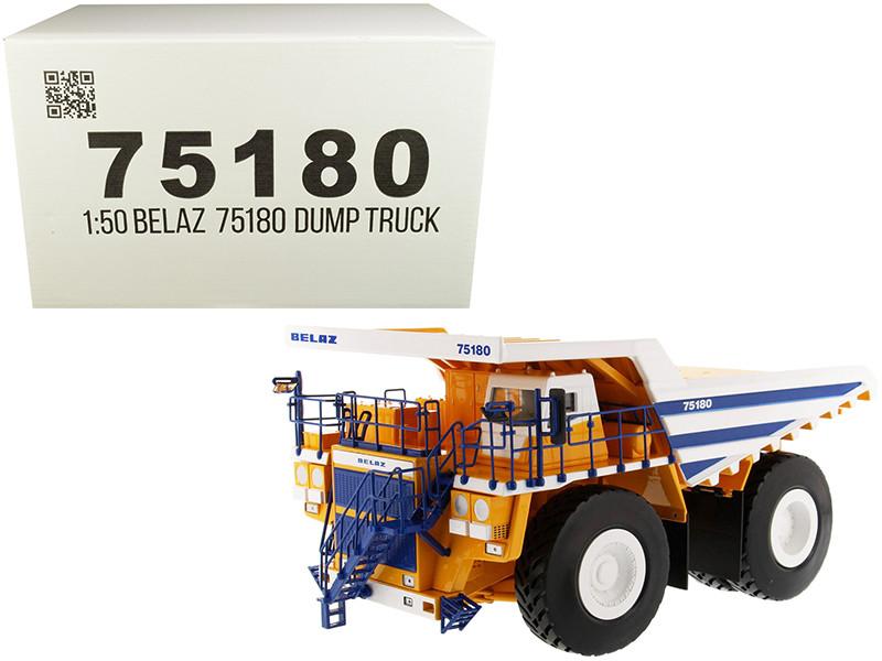 BelAZ 75180 Mining Dump Truck 1/50 Diecast Model Diecast Masters 75180