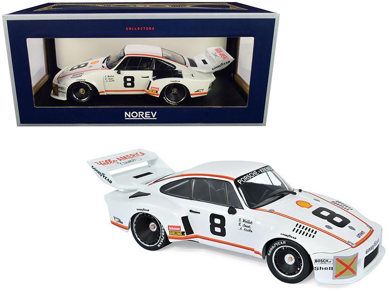 Porsche 935 #8 Joest Wollek Krebs Daytona 24H 1977 Kremer Racing 1/18 Diecast Model Car Norev 187438