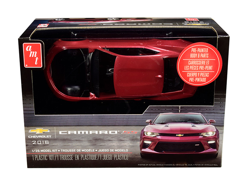 Skill 2 Model Kit 2016 Chevrolet Camaro SS 1/25 Scale Model AMT AMT1020 M