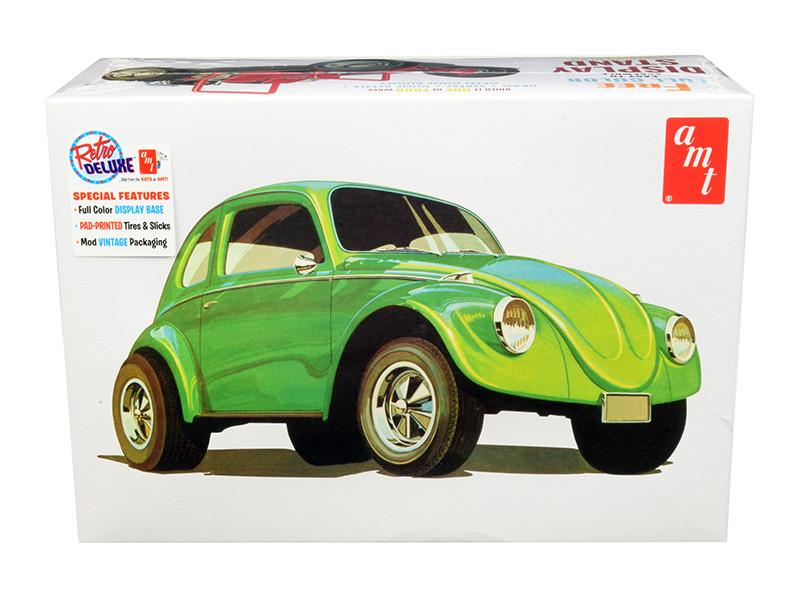 Skill 2 Model Kit Volkswagen Beetle Superbug Gasser 4 in 1 Kit 1/25 Scale Model AMT AMT1044