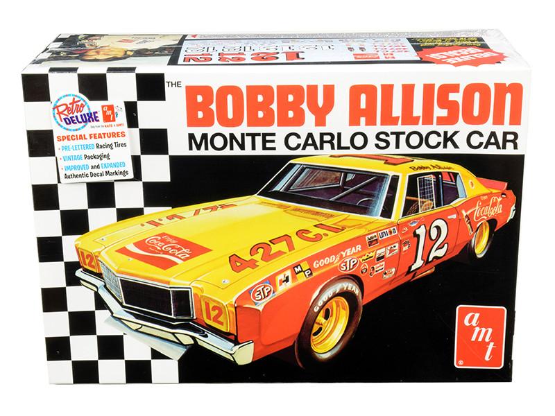 Skill 2 Model Kit Bobby Allison's Chevrolet Monte Carlo Stock Car 1/25 Scale Model AMT AMT1064