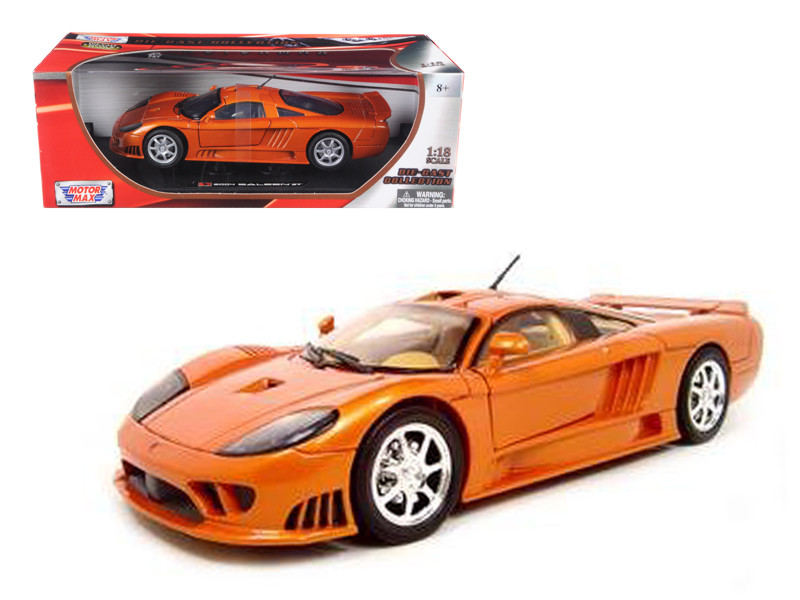 Saleen S7 Copper 1/18 Diecast Model Car Motormax 73117