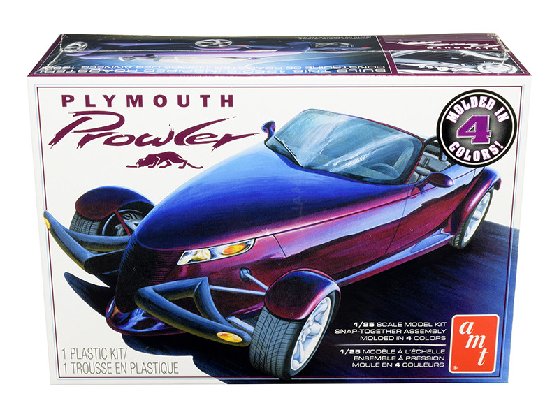 Skill 2 Snap Model Kit Plymouth Prowler 1/25 Scale Model AMT AMT1083 M