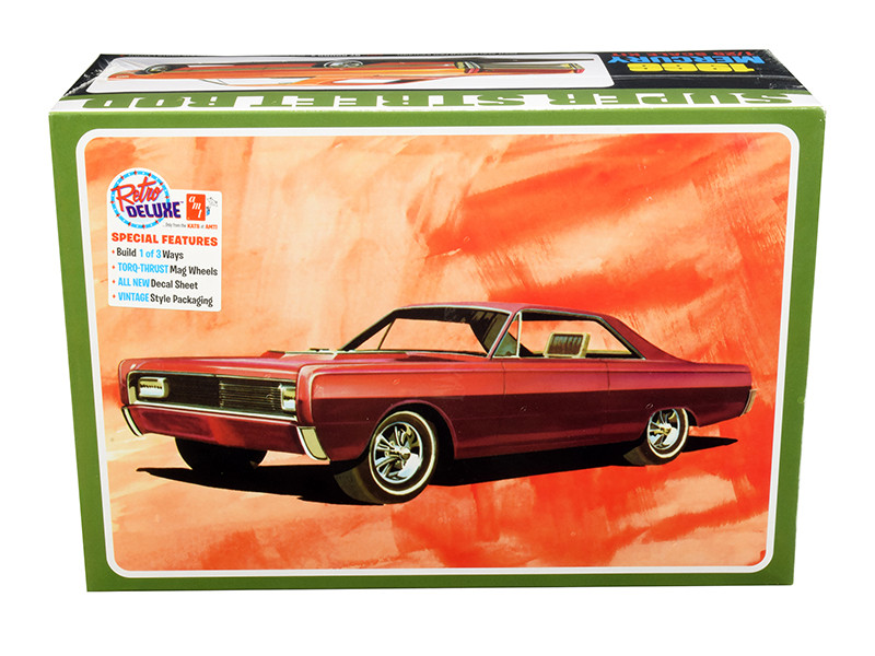 Skill 2 Model Kit 1966 Mercury Hardtop 3 in 1 Kit 1/25 Scale Model AMT AMT1098