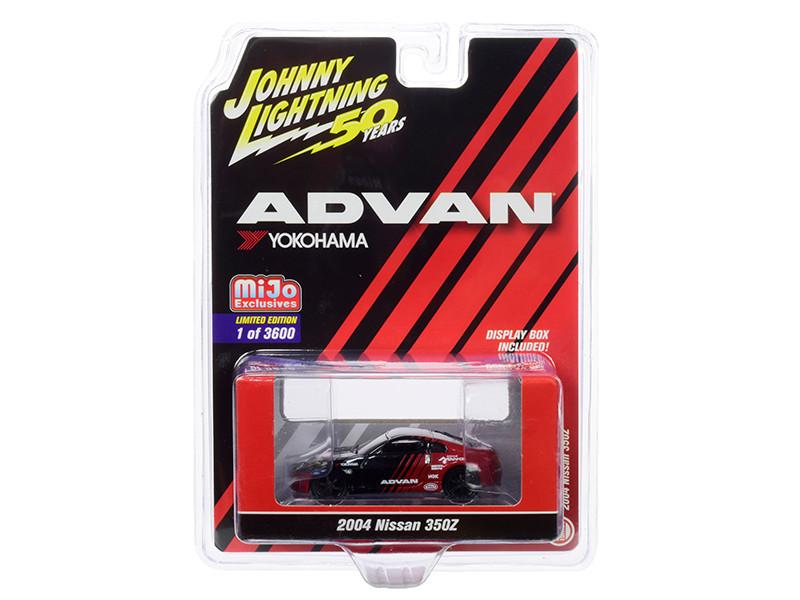 2004 Nissan 350Z ADVAN Yokohama Johnny Lightning 50th Anniversary Limited Edition 3600 pieces Worldwide 1/64 Diecast Model Car Johnny Lightning JLCP7241