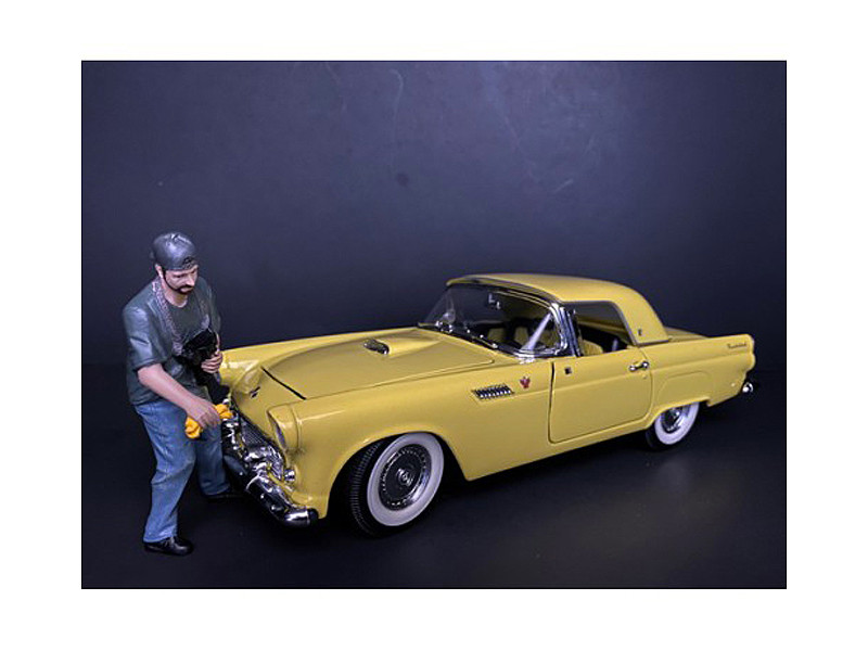 Weekend Car Show Figurine VII for 1/18 Scale Models American Diorama 38215