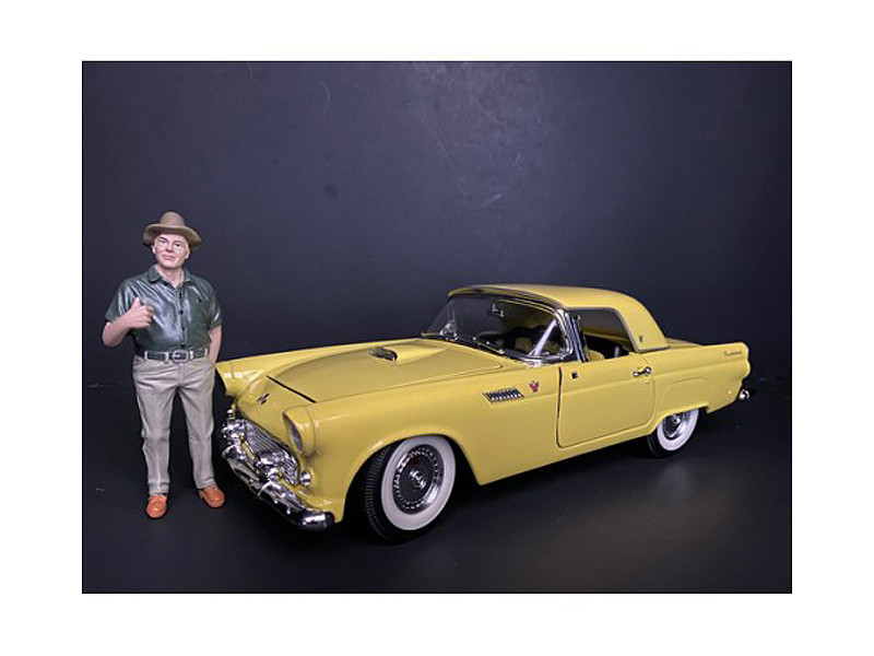 Weekend Car Show Figurine VIII for 1/18 Scale Models American Diorama 38216